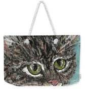 Tiger Cat Weekender Tote Bag