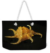 Tiger Conch Seashell Weekender Tote Bag