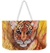 Tiger Cub Weekender Tote Bag