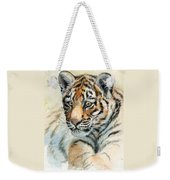 Tiger Cub Portrait 865 Weekender Tote Bag