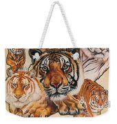 Tiger Haven Weekender Tote Bag