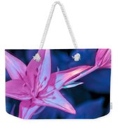 Tiger Lily Abstract Weekender Tote Bag