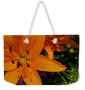 Tiger Lily Bouquet Weekender Tote Bag
