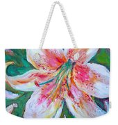 Tiger Lily Passion Weekender Tote Bag