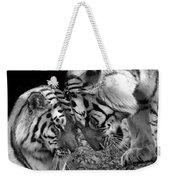 Tiger Love Weekender Tote Bag