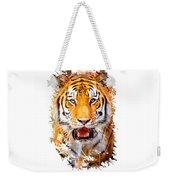 Tiger On The Hunt Weekender Tote Bag