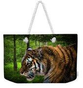 Tiger On The Prowl Weekender Tote Bag