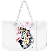 Tiger Siesta Weekender Tote Bag