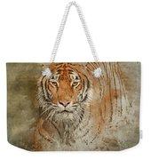 Tiger Splash Weekender Tote Bag