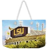 Tiger Stadium - Digital Painting Weekender Tote Bag