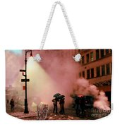 Tiger Suanters The Sloggy Evening Urban Landscape Weekender Tote Bag