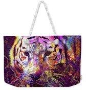 Tiger Surreal Painting Predator  Weekender Tote Bag