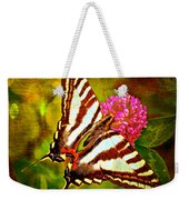 Zebra Swallowtail Butterfly - Digital Paint 3 Weekender Tote Bag