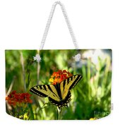 Tiger Tail Beauty Weekender Tote Bag