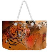 Tiger Woods Or Earn Your Stripes Weekender Tote Bag