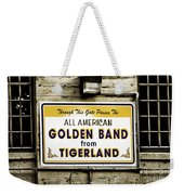 Tigerland Band Weekender Tote Bag