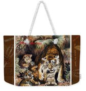 Tigers For Responsible Tourism Weekender Tote Bag