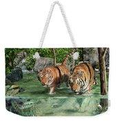 Tiger's Water Park Weekender Tote Bag