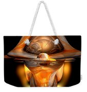 Tiki Abstract Weekender Tote Bag