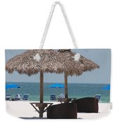 Tiki On The Gulf Weekender Tote Bag