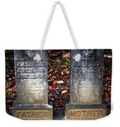 Til Death Do Us Part Weekender Tote Bag