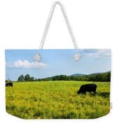 Til The Cows Come Home Weekender Tote Bag