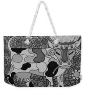 Tile Cow Weekender Tote Bag