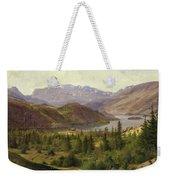 Tile Fjord Weekender Tote Bag by Louis Gurlitt