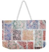 Tile Splash Weekender Tote Bag