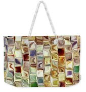 Tiled Abstract Weekender Tote Bag