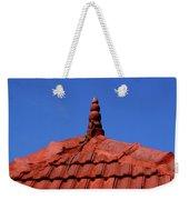 Tiled Roof Near Ooty, India Weekender Tote Bag