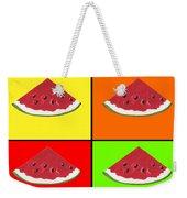 Tiled Watermelon Weekender Tote Bag