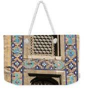 Tiled Window Frame Weekender Tote Bag