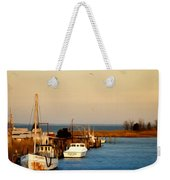 Tilghman Island Maryland Weekender Tote Bag