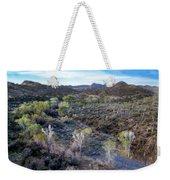 Tilt-shift Desert Wash Weekender Tote Bag