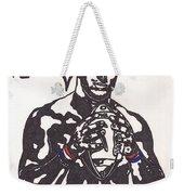 Tim Tebow 2 Weekender Tote Bag by Jeremiah Colley
