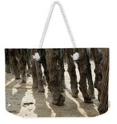 Timber Textures Lll Weekender Tote Bag