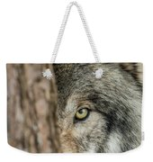 Timber Wolf Picture - Tw285 Weekender Tote Bag