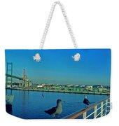 Time For A Cruise Weekender Tote Bag