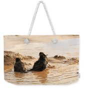 Time For A Mud Bath Weekender Tote Bag