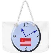 Time For Patriotism Weekender Tote Bag