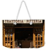 Time For Pizza Weekender Tote Bag