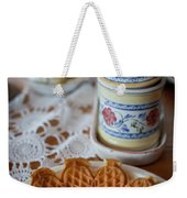 Time For Waffle Weekender Tote Bag