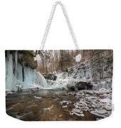 Time Is A Stream Weekender Tote Bag by Lori Deiter