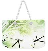 Time Is Money  Weekender Tote Bag