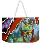 Time Is Running Out Weekender Tote Bag