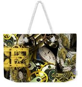 Time Is Stacking Up Weekender Tote Bag