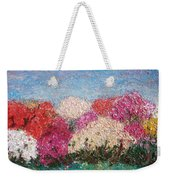 Time Of Rhododendron Weekender Tote Bag
