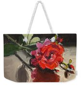 Time Of Roses Weekender Tote Bag