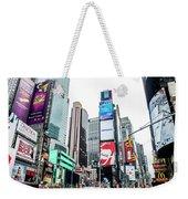 Time Square Weekender Tote Bag